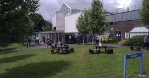 Jardín del campus de Ericsson